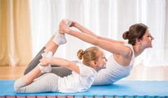 Польза и особенности детской йоги